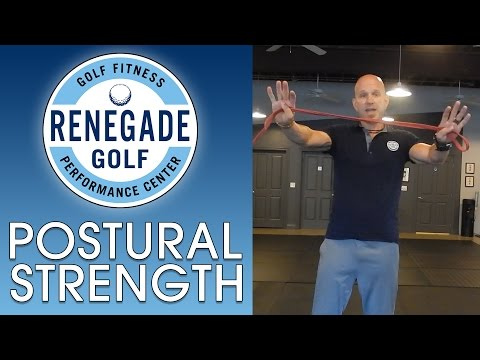 Golf Posture Band Exercise