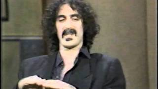 Frank Zappa Late Night with David Letterman June 16, 1983