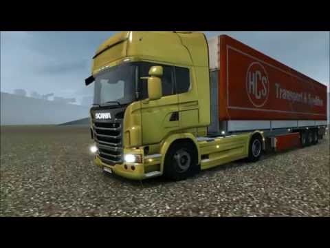 Euro Truck Simulator 2 Ultra Realistic Physic Mod v5 + Works in RJL Scania T And Streamline