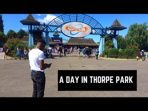 LONDON BOY VLOG#3 - A Day In Thorpe Park