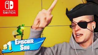 Neustartbus LOGIKFEHLER & epischer Solo Sieg | Fortnite Nintendo Switch Deutsch
