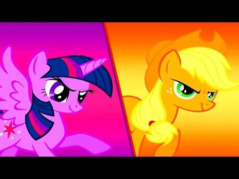 My Little Pony Миссия Гармонии Играем с Вайлет Спаркл и Эпплджек игровой Мульт Best Kids Apps