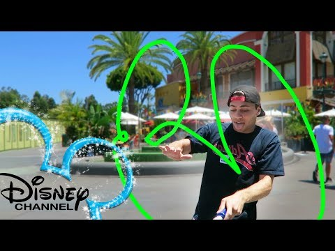 PEOPLE TRY TO DRAW DISNEY CHANNEL INTRO PART 2 | DOWNTOWN DISNEY