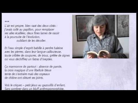 Кристина Зейтунян-Белоус читатет стихотворение Виталия Кальпиди в своем переводе на французский язык