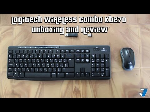 Logitech MK270 Wireless Combo Unboxing and Review