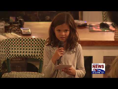 8 YR OLD MISSISSIPPI GIRL WRITES BOOK, CHILD AUTHOR