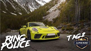 Im Vergleich: Porsche GT3 Touring & GT3 Clubsport | Alpine Rush Tag 2