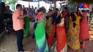 Banjara Girls & Ladies Super Dance on Folk Song in Marriage || 3TV BANJARA