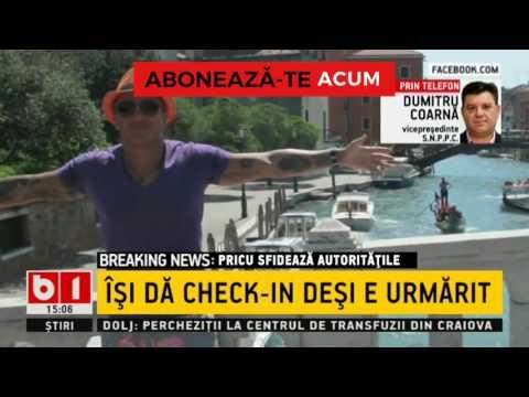 PRICU SFIDEAZA AUTORUTATILE A OBOSIT SA SE ASCUNDA