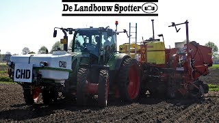 Cultivating + Planting Potatoes 2019   Fendt 1050 + 720   Horsch   Grimme GL 860   Roswinkel