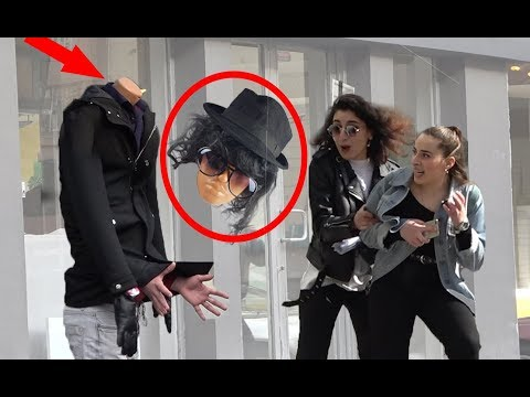 Headless Mannequin Scare Prank #2 2019 (Screaming Out Loud)