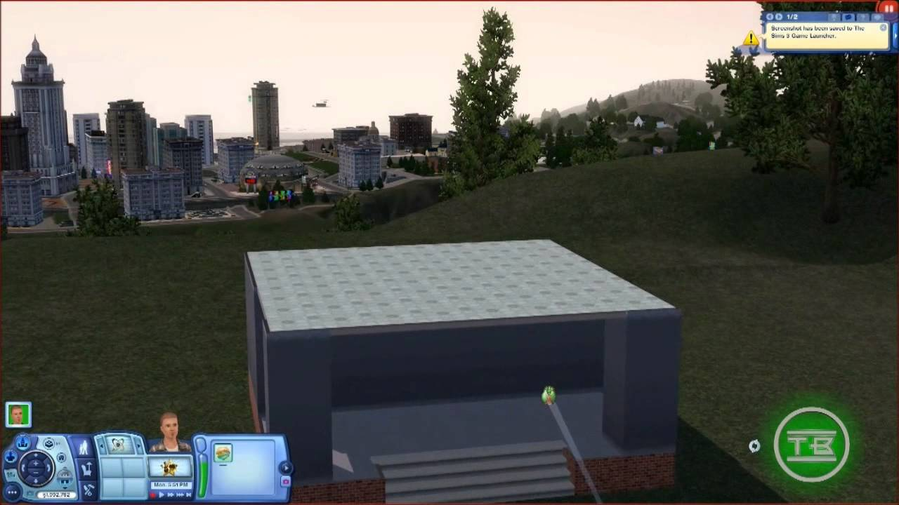 Sims 3 Slow Moving Camera Tutorial - YouTube