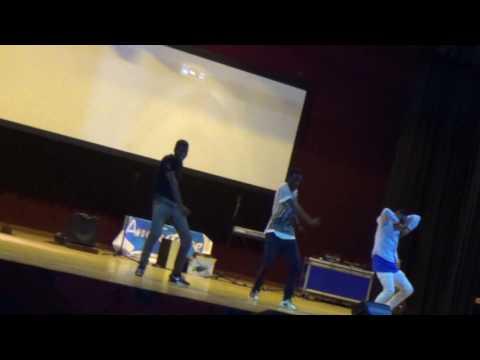 ART SOCITY AT IUEA UGANDA Performing Chris brown moves  PART 8 (DOCH MUSIC)