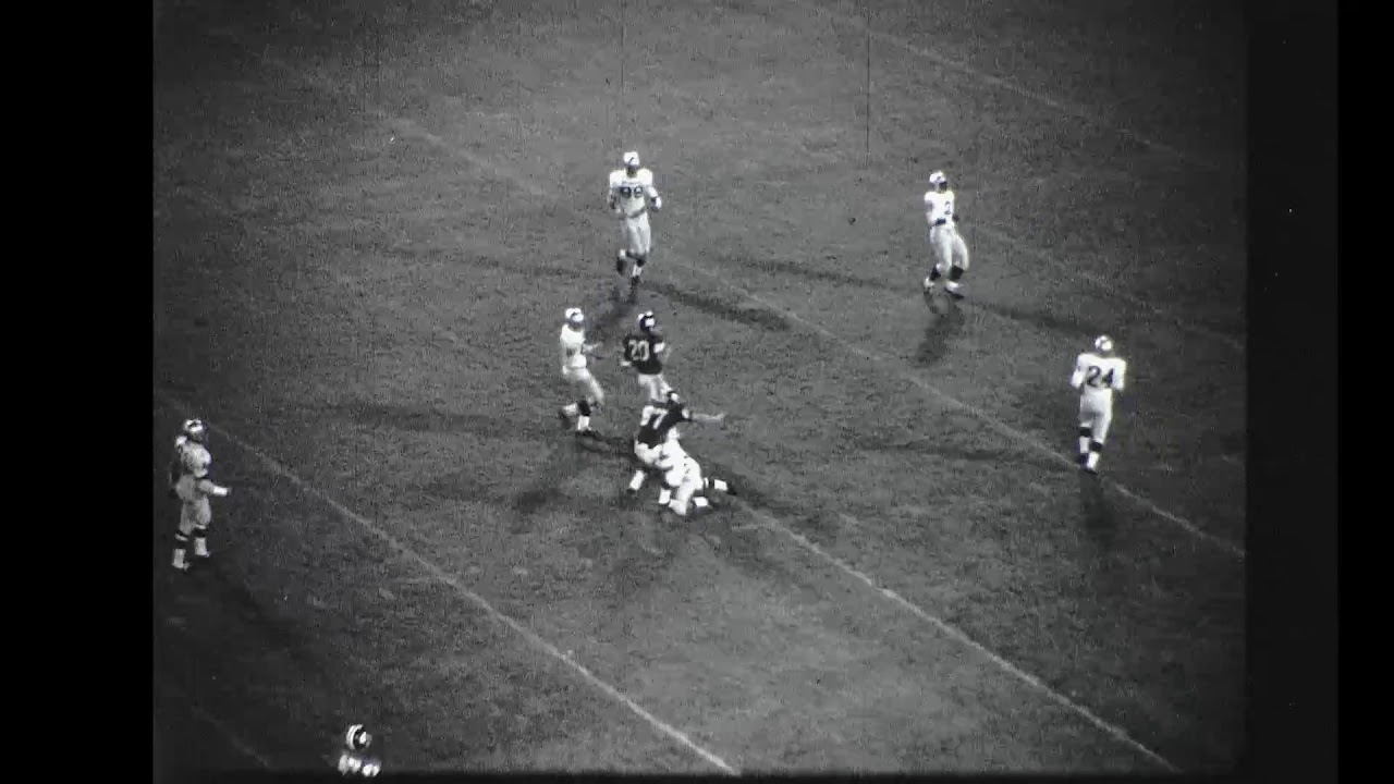 Indiana State Football 1967 Defensive 16mm Film