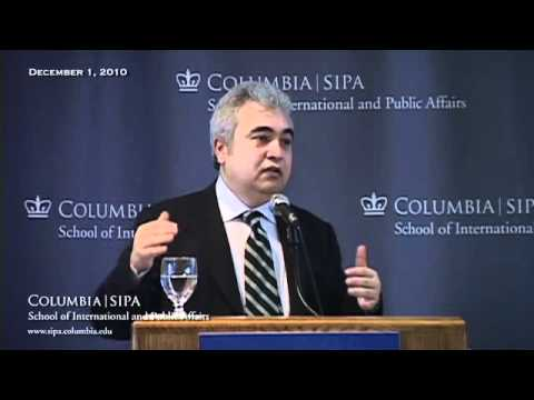 SIPA's Leaders in Global Energy: Fatih Birol: Shaping the Future of Global Energy