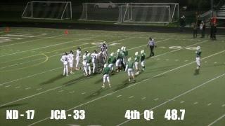 NDCP vs. Joliet Catholic Varsity Football Game