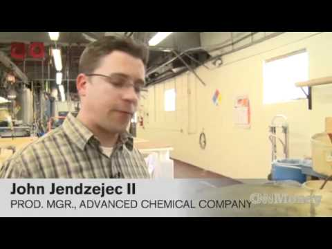 Advanced Chemical Company - Precious Metal Refiner gets a Visit from CNN Money