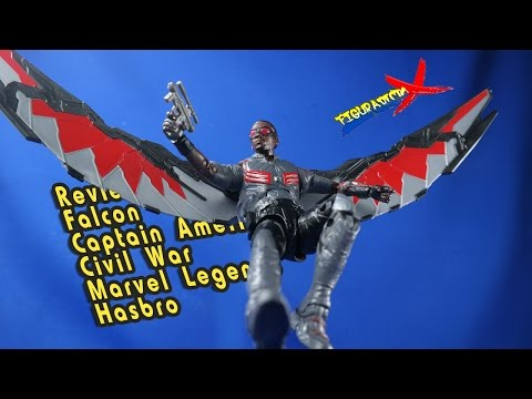 Review Falcon Marvel Legends Captain America Civil War Walmart Exclusive Hasbro Revision Español