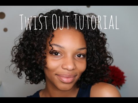 How to do a Twist Out on Natural Hair | Natural Hairstyles | Flawhs