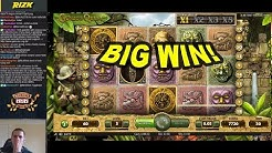 BIG WIN on Gonzo's Quest Slot - £3 Bet