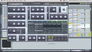 Anthony Ross - Deep House Chords Massive Tutorial with DJ Anthony Ross