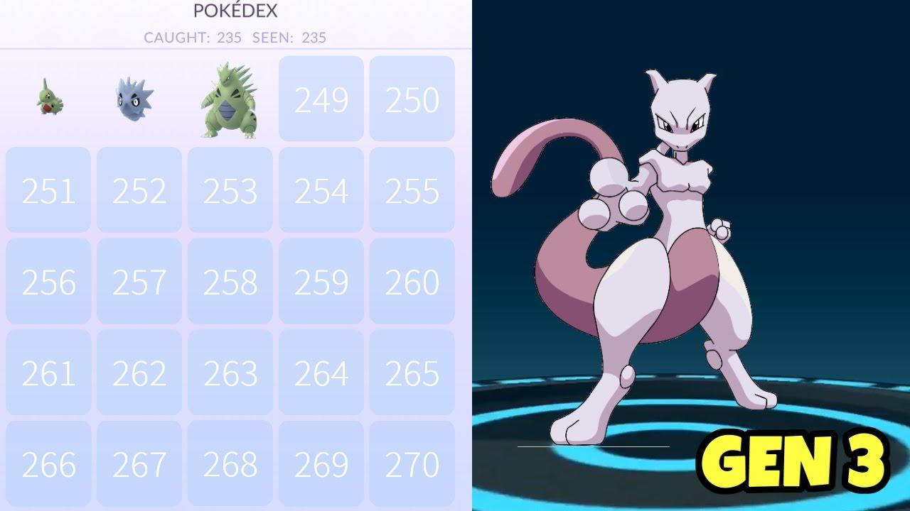 POKEMON GO GEN 3 OR LEGENDARY + UPDATE LEAKS | Pokemon Go Wiki
