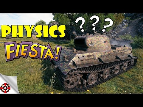 World of Tanks - Funny Moments | PHYSICS FIESTA! (WoT Bugs, June 2018) thumbnail