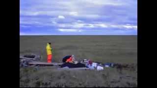Aufbau einer Permafrost-Bodenstation