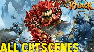 [PS4PRO] Knack 2 - All Game Cutscenes (FULL GAME MOVIE) [1080p]