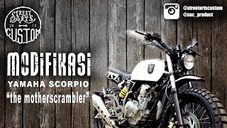 modifikasi yamaha scorpio - the motherscrambler - with english subtitle