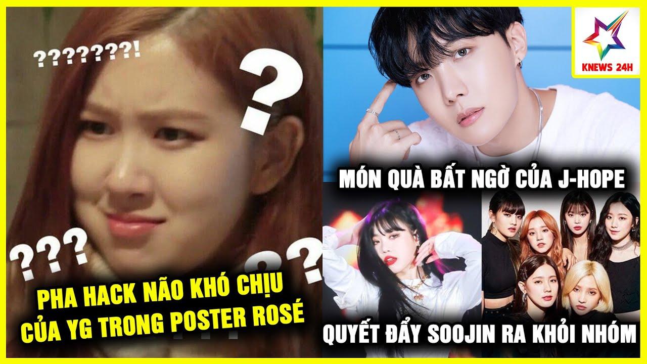 Netizen Hoang Mang Vì Poster Ấn Định Ngày Solo Của Rosé; J-Hope 'Phủ Sóng' Top Trending Vì Điều Này