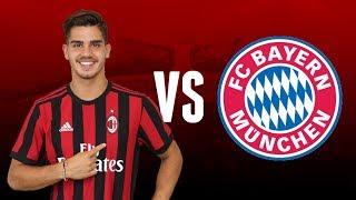 André Silva VS FC Bayern München | Debut for AC Milan - Friendly Game | 18-07-2017 | Milan Actu HD