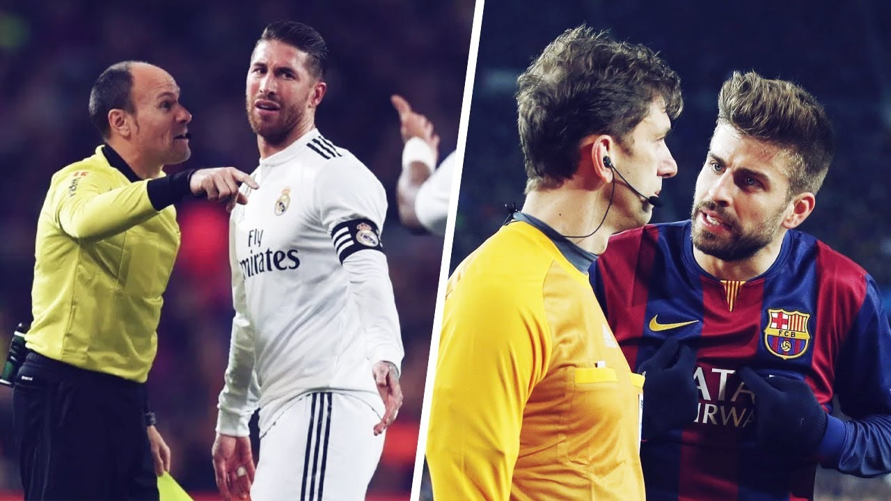 Real Madrid vs. FC Barcelona: which team gets more help from referees in La Liga? | Oh My Goal