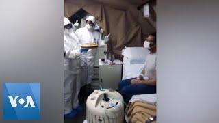 Italian Troopers Give Coronavirus Patient a Birthday Cake