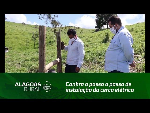 Confira o passo a passo de instalação da cerca elétrica utilizada no sistema voisin