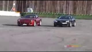 McLaren SLR vs. Ferrari 599 GTB