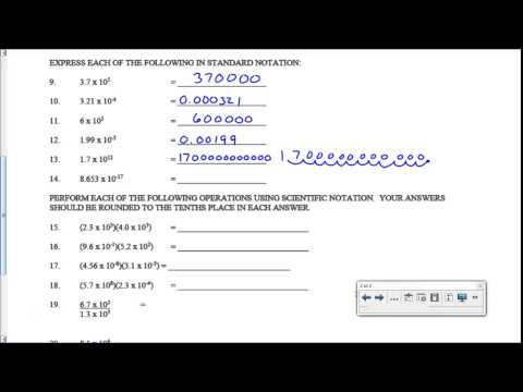 Printables Chemistry Scientific Notation Worksheet scientific notation worksheet key youtube key