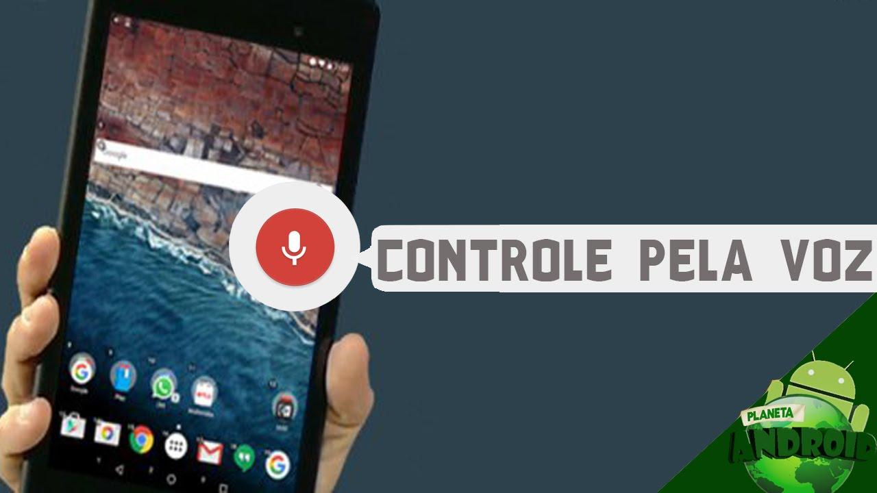 Como Colocar Comando De Voz No Seu Celular Ou Tablet Android Youtube
