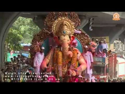 Lalbaugcha Raja Visarjan Promo 2015 new