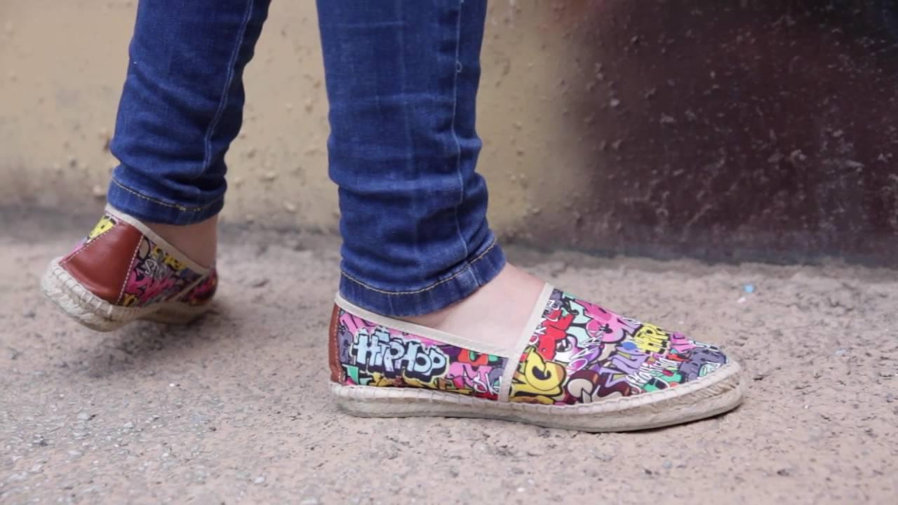 Alpargatas Estampadas Niños Mujer Hombre , Espardeñas Grafiti o Animal Print