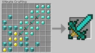 Minecraft Skywars but you can craft GIANT ITEMS...
