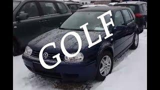 Новые осмотры Volkswagen Golf 1.9l Автомат 2002г. - Смотрим автомобили - серия по Гольфам