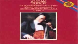 Repeat youtube video Bach: The six unaccompanied cello suites, Disc 2   Yo-yo ma