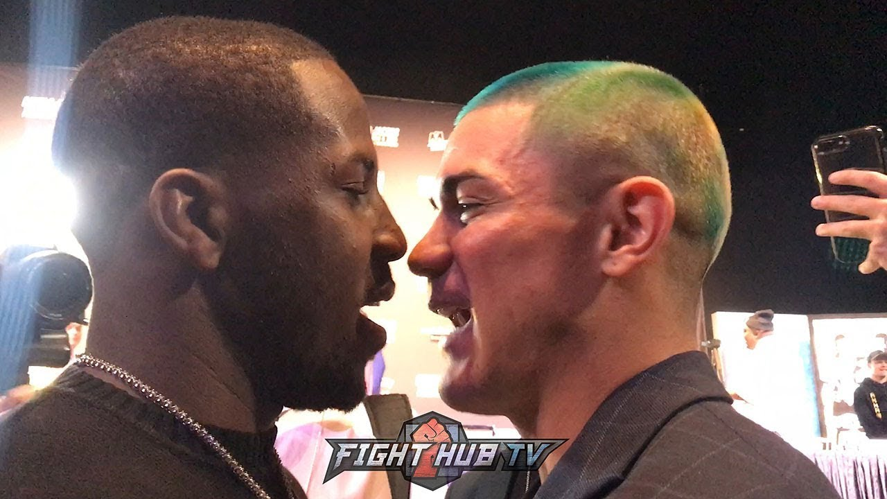 Tevin Farmer Confronts Joseph Diaz As Both Explode On Each Other Trade Heated Words Go At It Youtube