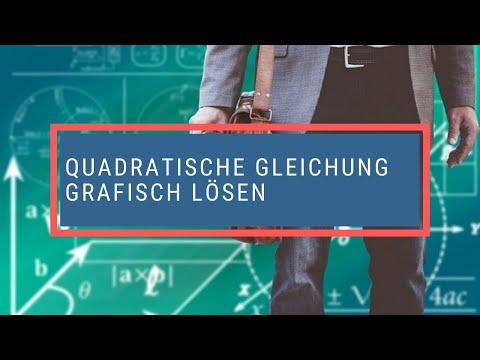 Quadratische Gleichung Grafisch Lösen - YouTube