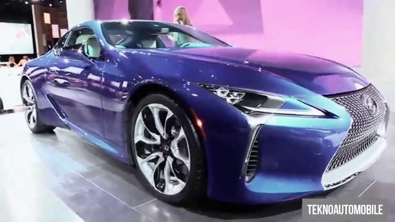 New 2018 Lexus Lc 500 Blue Best Exterior And Interior Walkaround