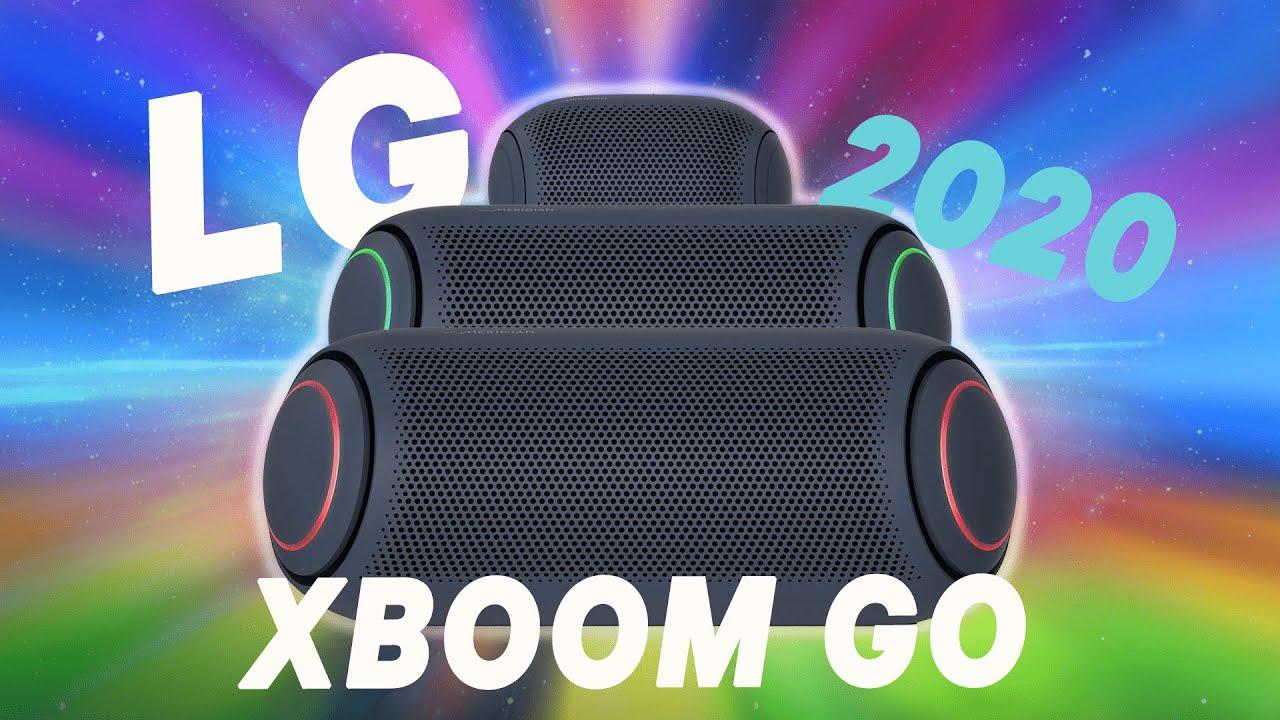 Nuevos ALTAVOCES bluetooth LG - XBOOM GO PL