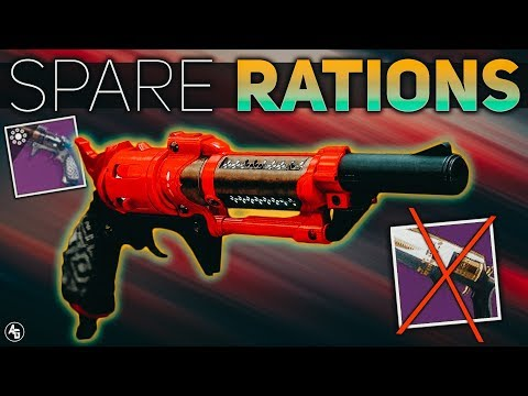 Destiny 2 | Spare Rations Hand Cannon (The new Midnight Coup) Season of the Drifter thumbnail