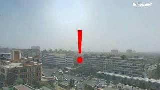 23.08.17. Баку. Пыльная буря. Вырубленные деревья. Апокалипсис уже сегодня.