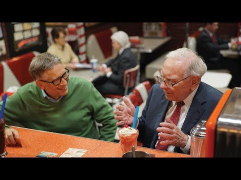 Sweet Nostalgia with Warren Buffett and Bill Gates